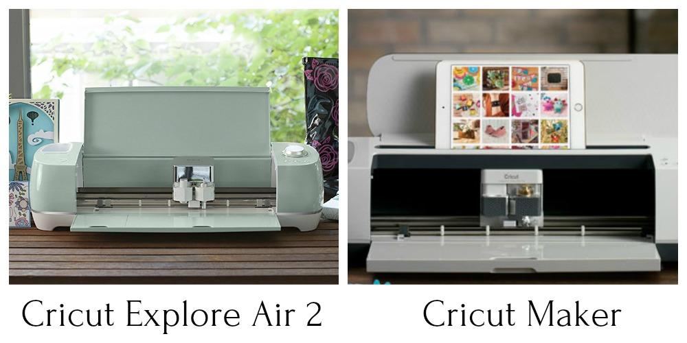 Cricut Explore Air 2 vs Cricut Maker