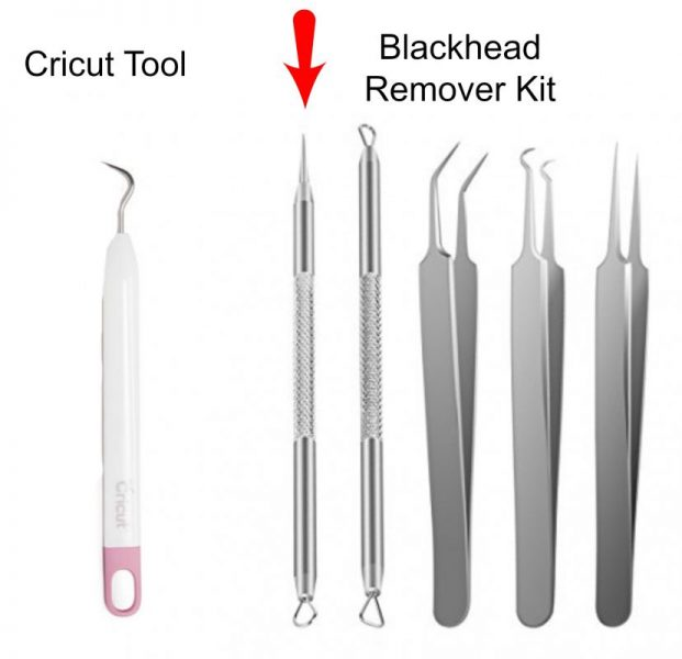 Cricut Tool vs Blackhead Remover Kit