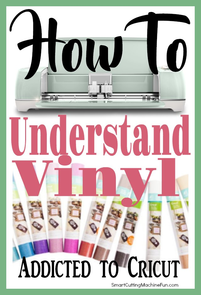 Understanding Cricut Vinyl is important to every project. Learn about the types of Cricut vinyl and what each are used for.