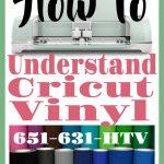 Cricut Vinyl | Understanding Cricut Vinyl | What Cricut Vinyl Should I Use
