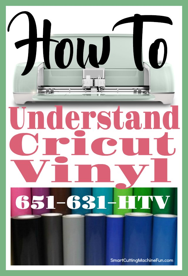 Cricut Vinyl | Understanding Cricut Vinyl | What Cricut Vinyl Should I Use