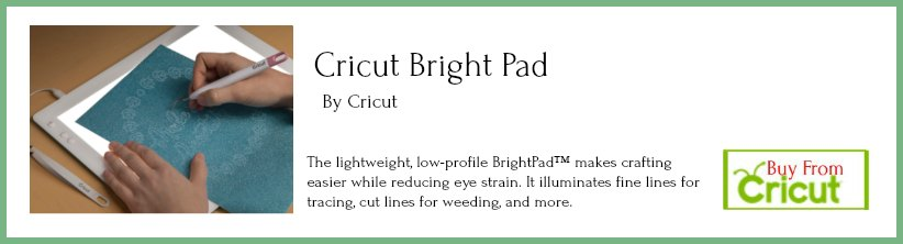 Cricut Bright Pad Buy Now with Border