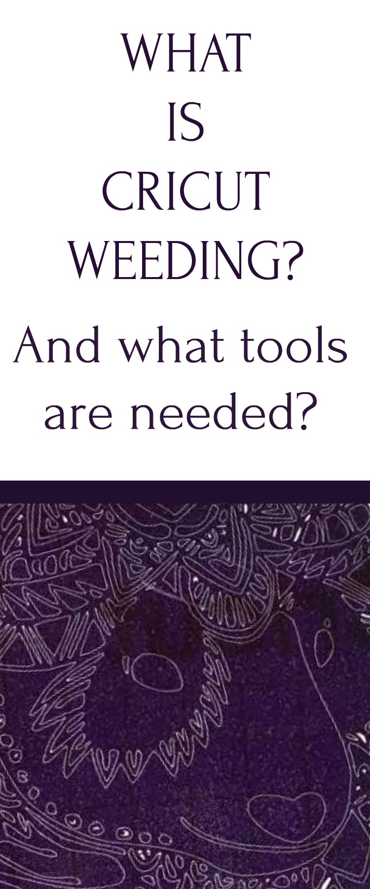 What Is Cricut Weeding? Find out how to become a Cricut Weeding expert with tips and tricks. Cricut weeding projects are easy and FUN!