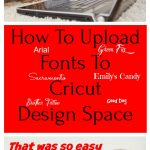How To Upload Fonts To Design Space | Find Free Fonts | Free Fonts for Cricut Design Space