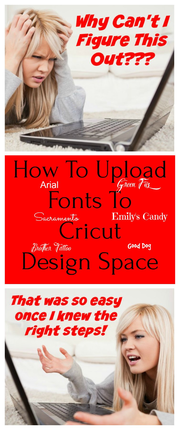 How To Upload Fonts To Cricut Design Space