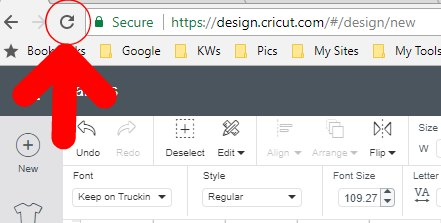 Downloaded Fonts Not Showing Up In Cricut Design Space