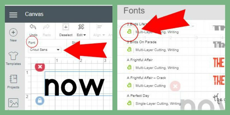 How To Use Cricut Access Fonts