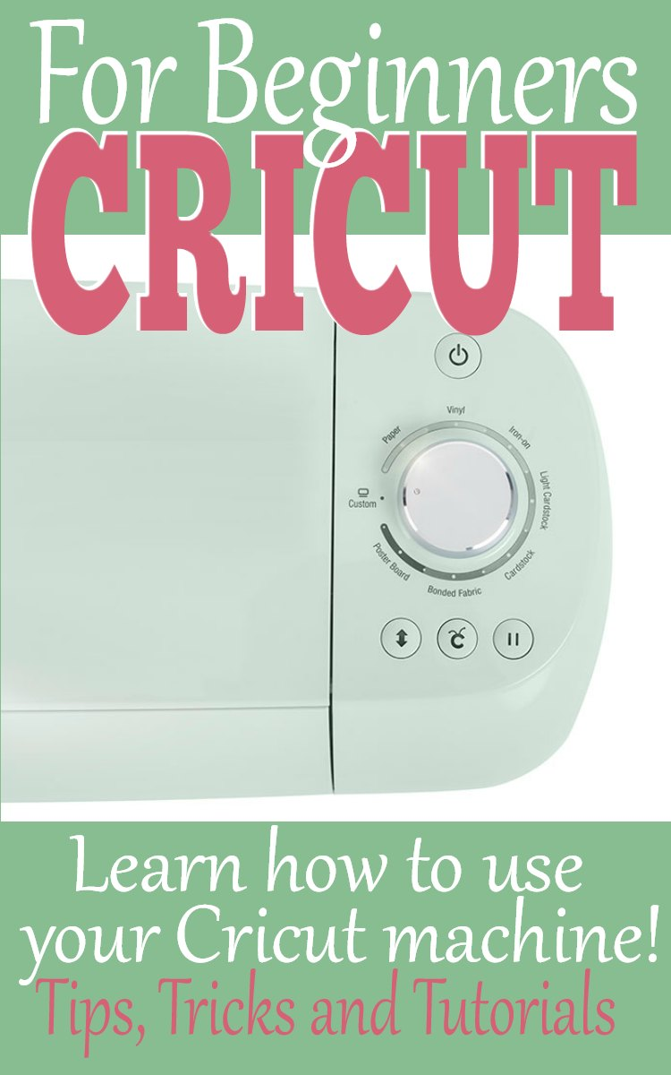Do you have a new Cricut Machine? Learn how to use your new Cricut TODAY! Fast and easy tutorials that will get you started now.