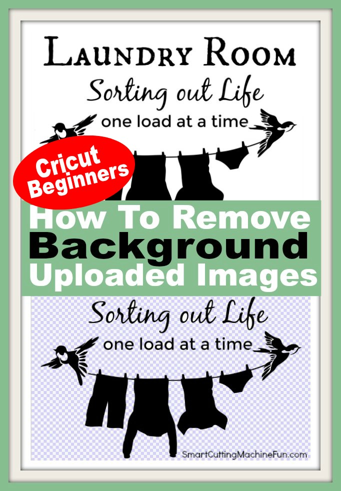 Have you ever wondered how to get the background out of an uploaded image in Cricut Design Space? Me too! Find the answer here. Quick and Easy