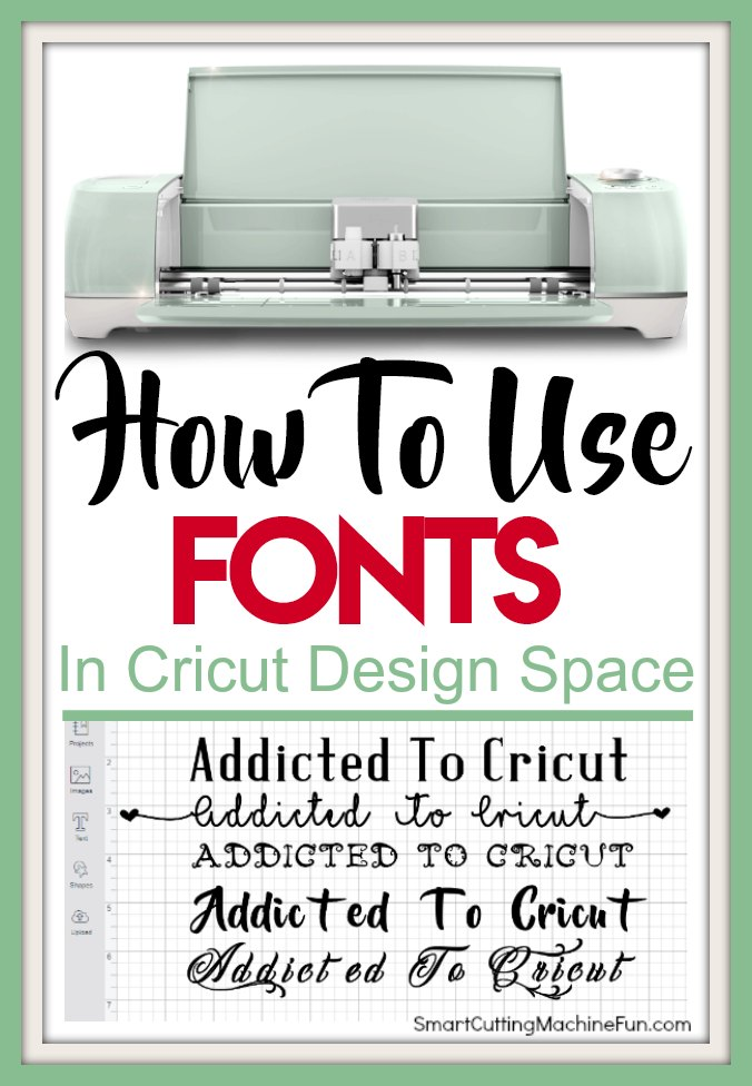 Do you know how to use fonts in Cricut Design Space? Find out how NOW.