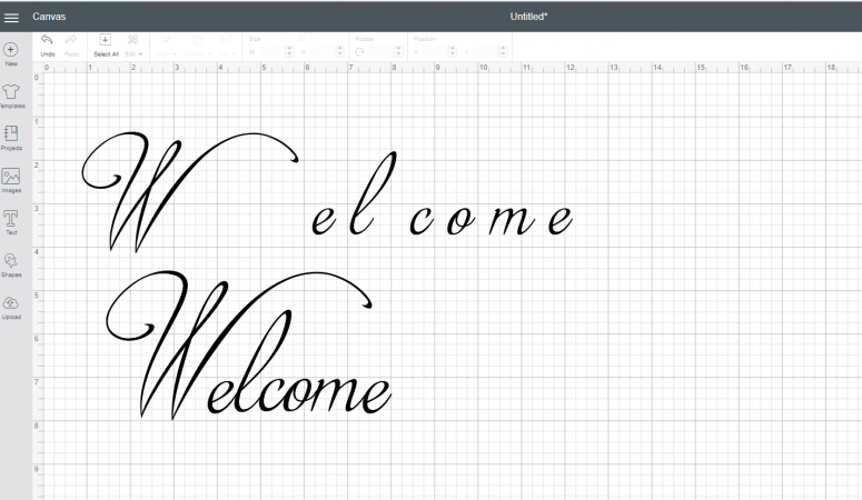 3 Simple Ways to Connect Cursive Font in Cricut Design Space