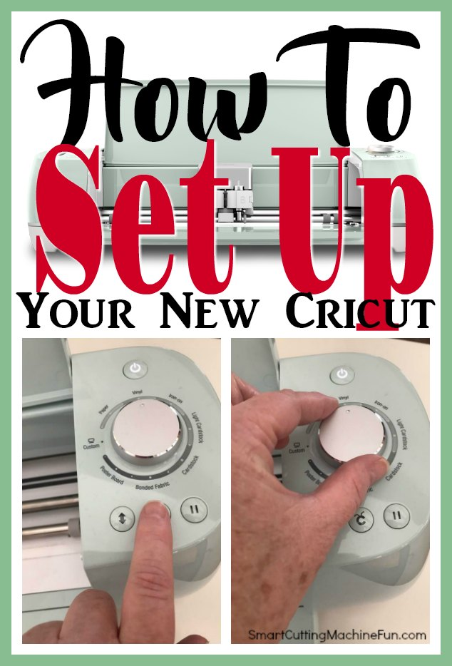 If Video instructions on how to set up your new Cricut is what you need. You found it!