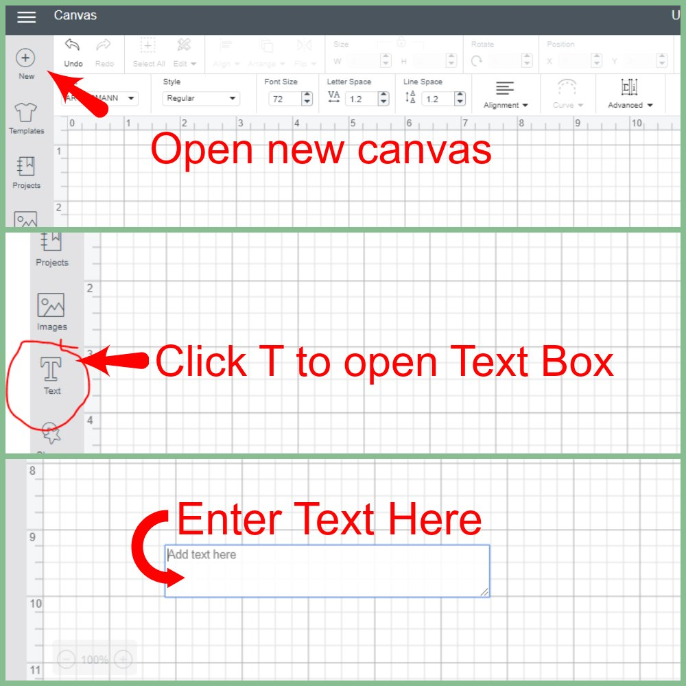 Learn the basics of how to use fonts in Cricut Design Space. Fast and easy.