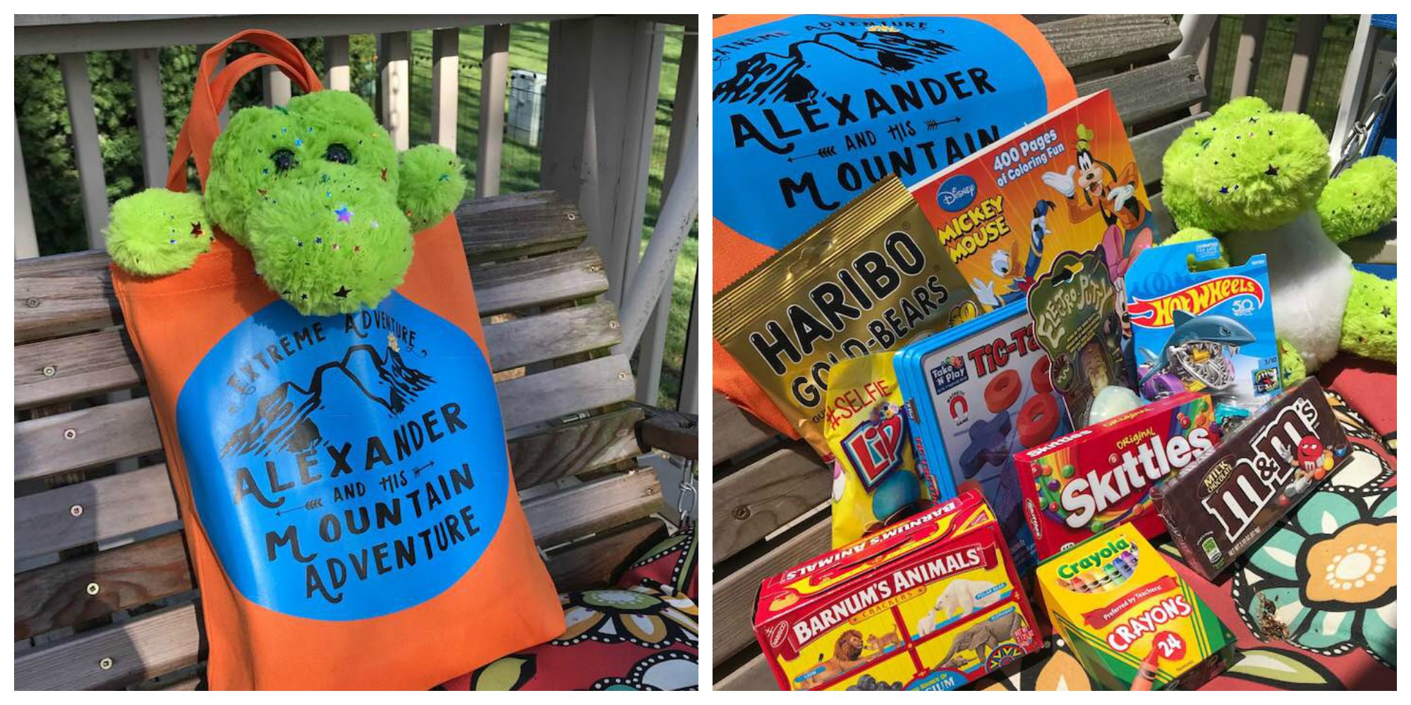 Personalized Kids Road Trip Activity Bags starts any trip out on the right foot. Fill it with great activities and don't forget the snacks.