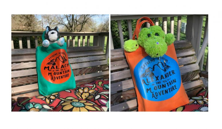Kids Road Trip Activity Bags