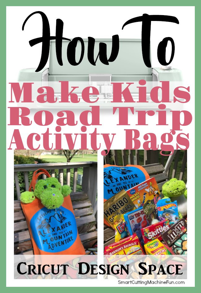 Create personalized Kids Road Trip Activity Bags for your next road trip. Keep the quiet as long as possible