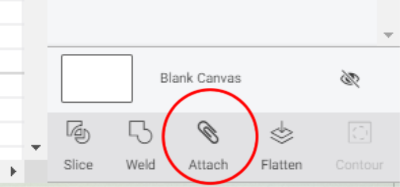 Attach Basics - How to Attach in Cricut Design Space