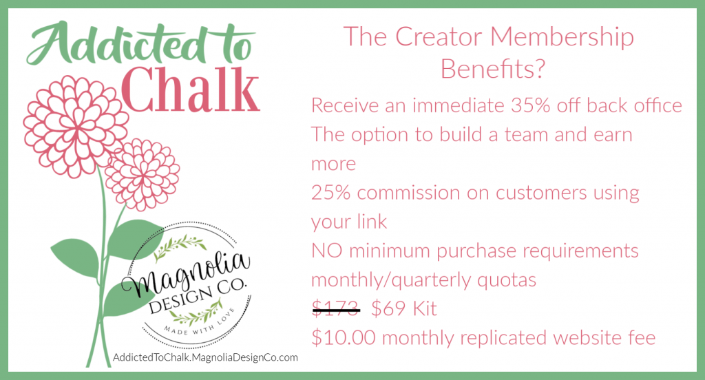 Become a Creator with Magnolia Design Co