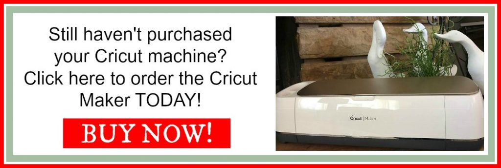 Do you have a Cricut machine yet? Buy the Maker NOW!