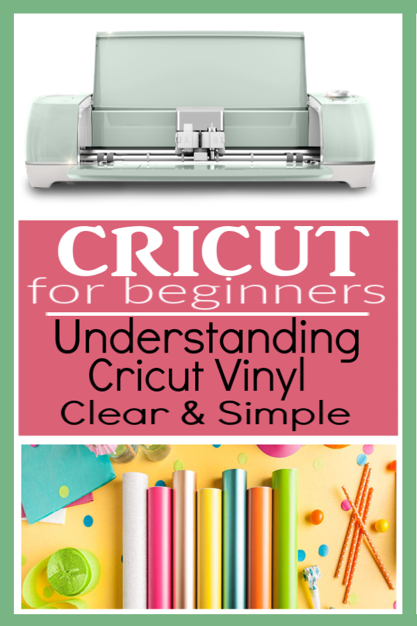 Clearly Understanding Types of Vinyl for Cricut Machine
