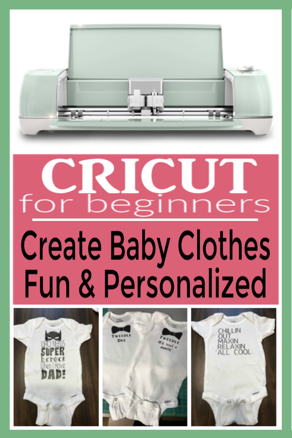Create Personalized Baby Clothes | Personalized Baby Onesies | Create Baby Clothes with Cricut
