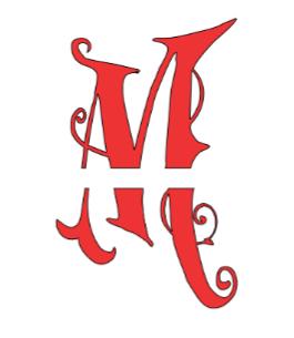 Create a Split Letter Monogram Letter - Splitting the Letter