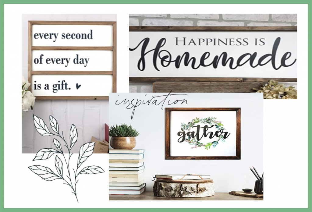 Create Beautiful Farmhouse signs using Text