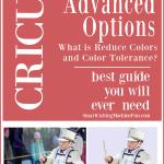 Cricut Advanced Options