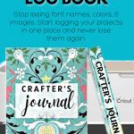 Cricut Craft Journal