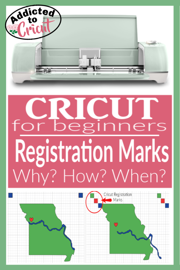 Cricut Registration Marks | Learn 2 ways to use Cricut Registration Marks to make your projects better.