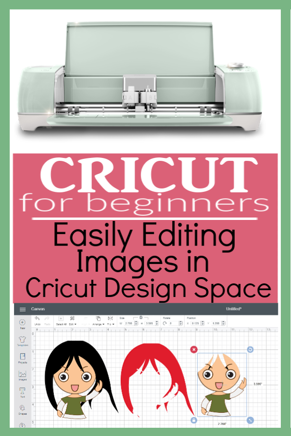 Editing Images in Cricut Design Space | Simple Way to Edit Images in Cricut Design Space