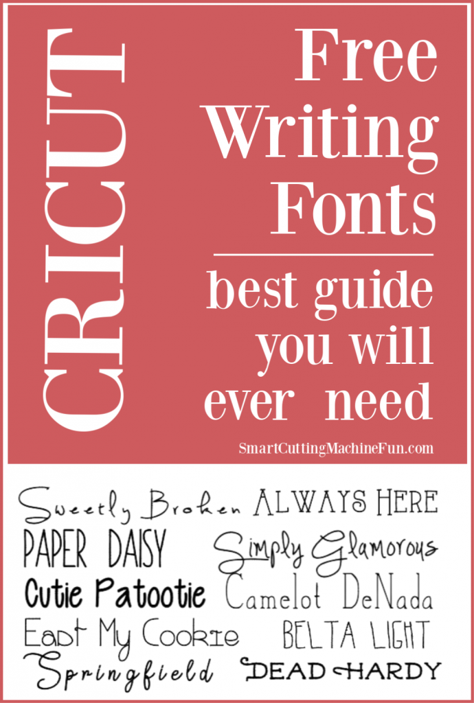Free Writing Fonts for Cricut