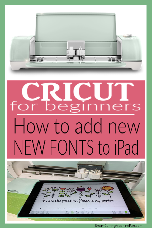 Add font to iPad | How to add fonts to iPad for Cricut | Add fonts to iPad for Cricut