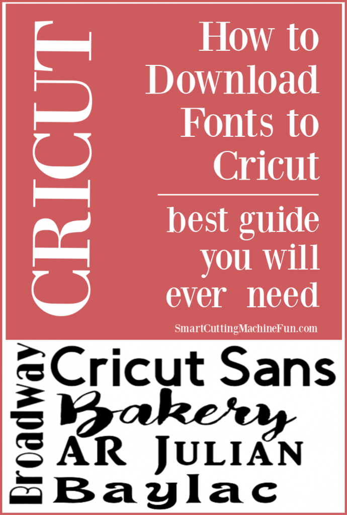 Learn how to download free Dafont fonts to Cricut.