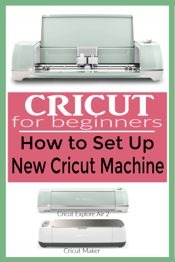 How to Set Up New Cricut Machine | Set up Cricut |