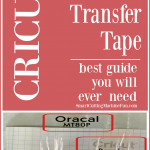 How to Use Transfer Tape with Cricut