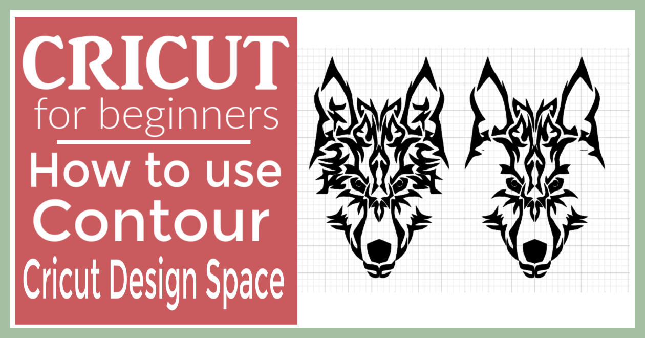 How to use Contour in Cricut Design Space - Smart Cutting