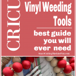 weeding tool for Cricut