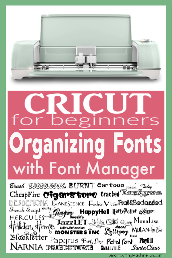 Organizing Fonts with Font Manager | Font Manager | Organize your fonts