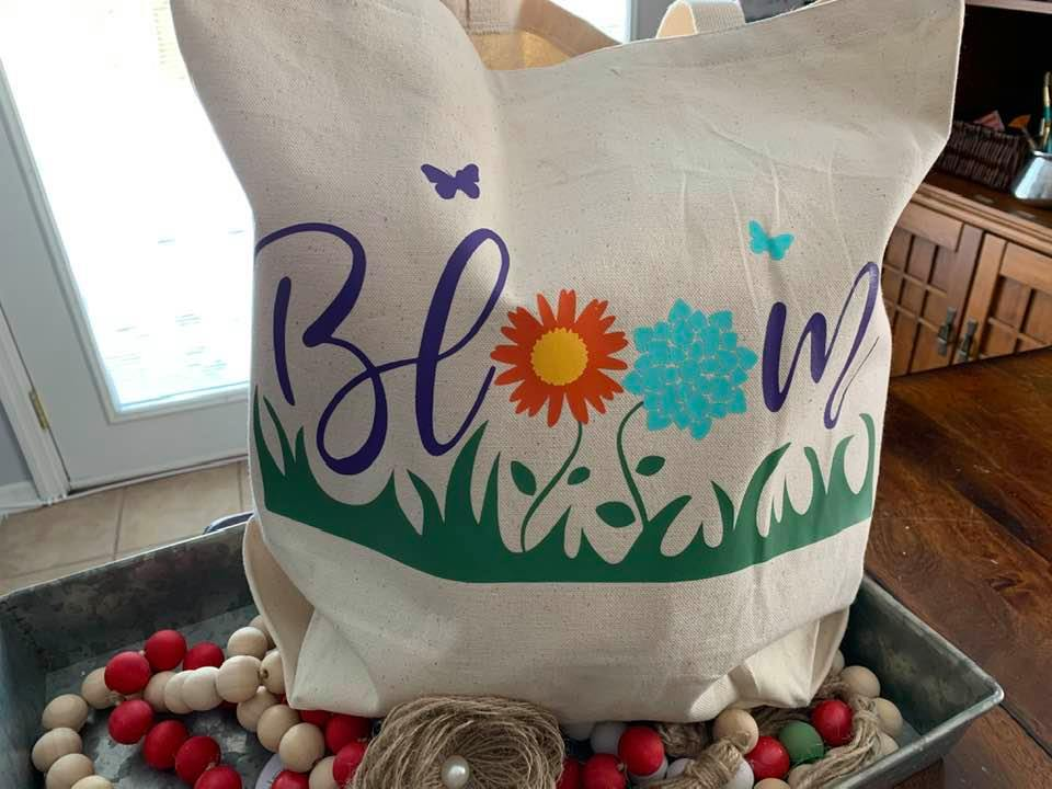 Spring Tote Bag Perfect for any activity.