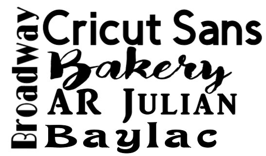 Text – Cricut Design Space Basics