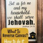 What is Cricut Reverse Canvas?